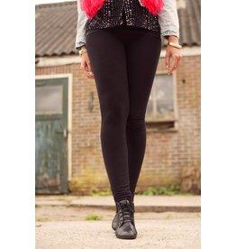 Lange legging zwart