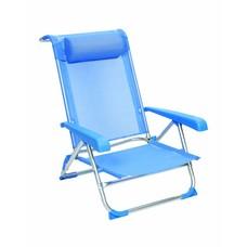 Red Mountain - Strandstoel - Aluminium - Deluxe - Blauw