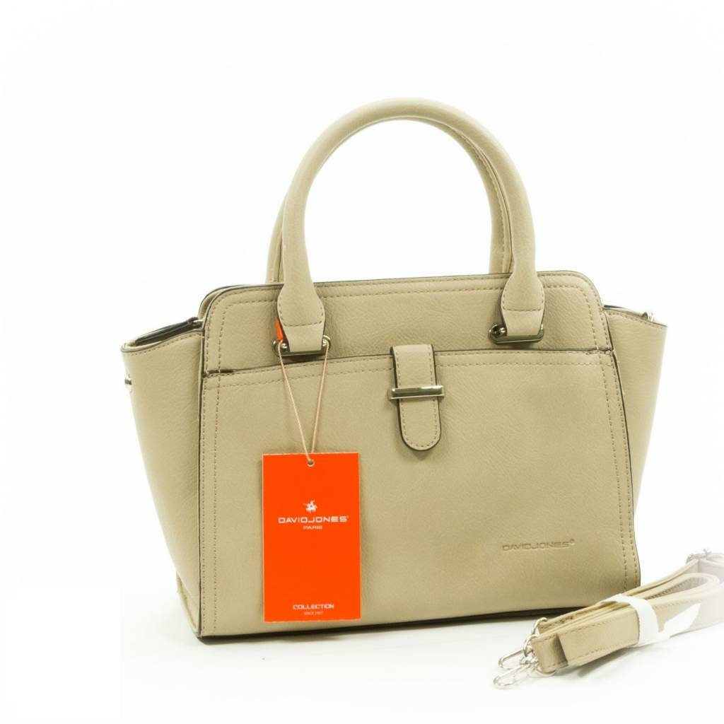 David Jones Handtas Medium Beige