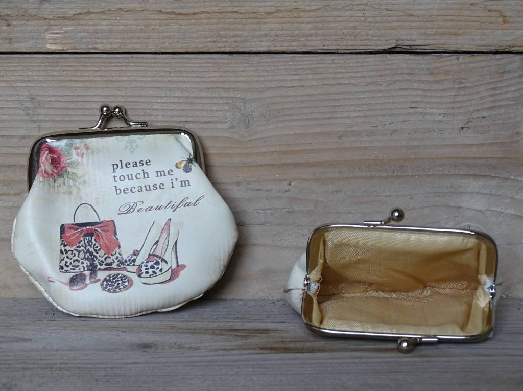 Kleingeld portemonnee Clayre & Eef Fashion