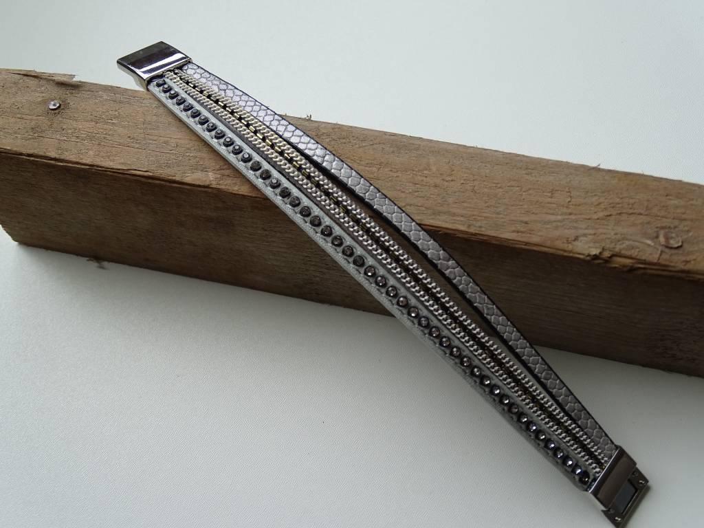 Magneet armband 3 bandjes