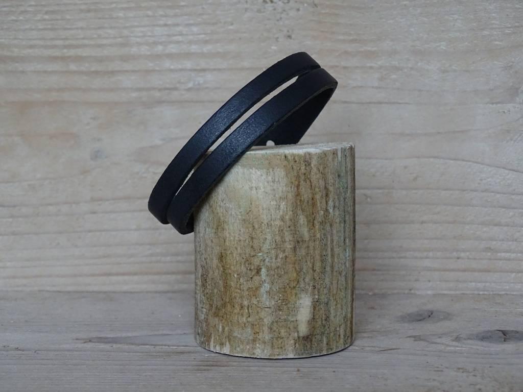 Unleaded Heren armband Bruin Leer