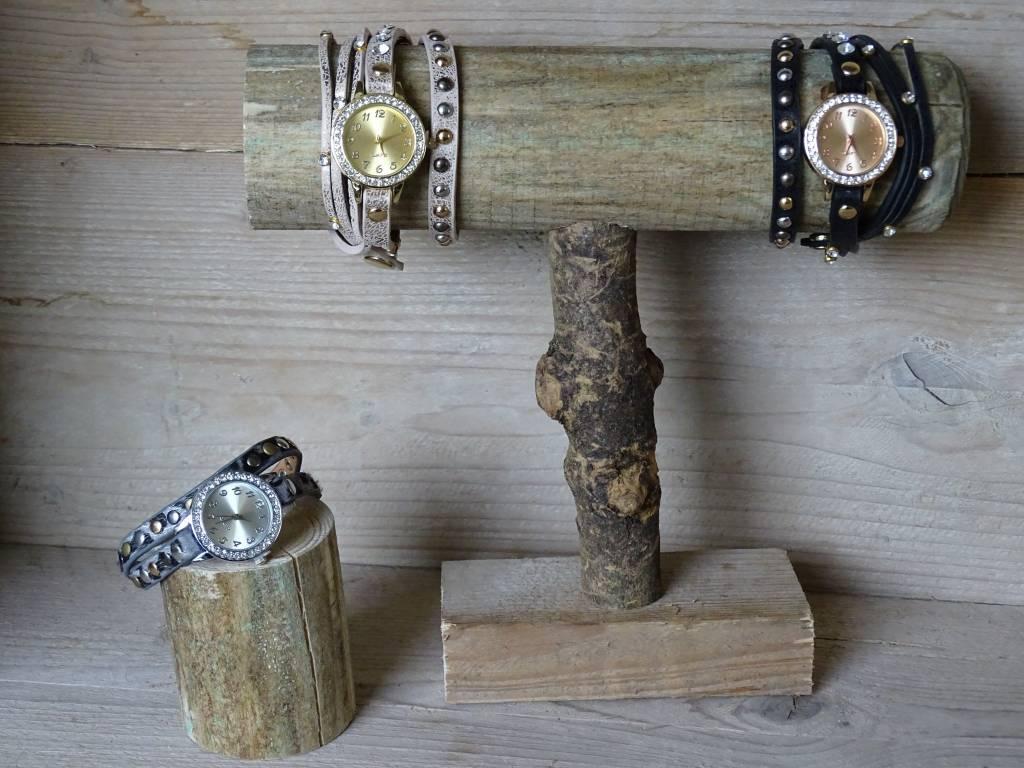 Dames horloge zwart