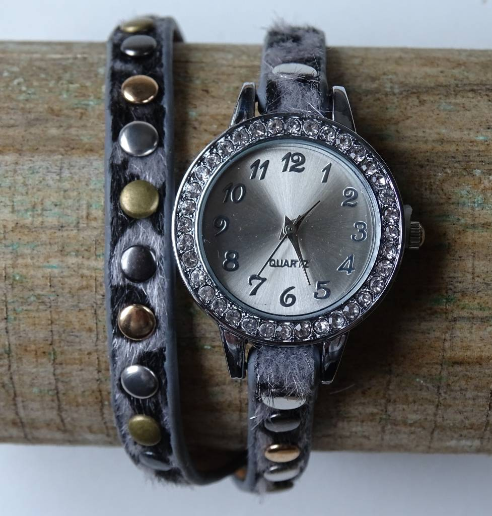 Dames horloge Grijs