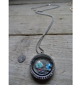 My Luck Charm Ketting Family Zilver-Diamant