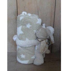 Clayre en Eef Plaid met knuffel schaap