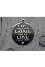 Pinkiezz Munt  Live Laugh Love