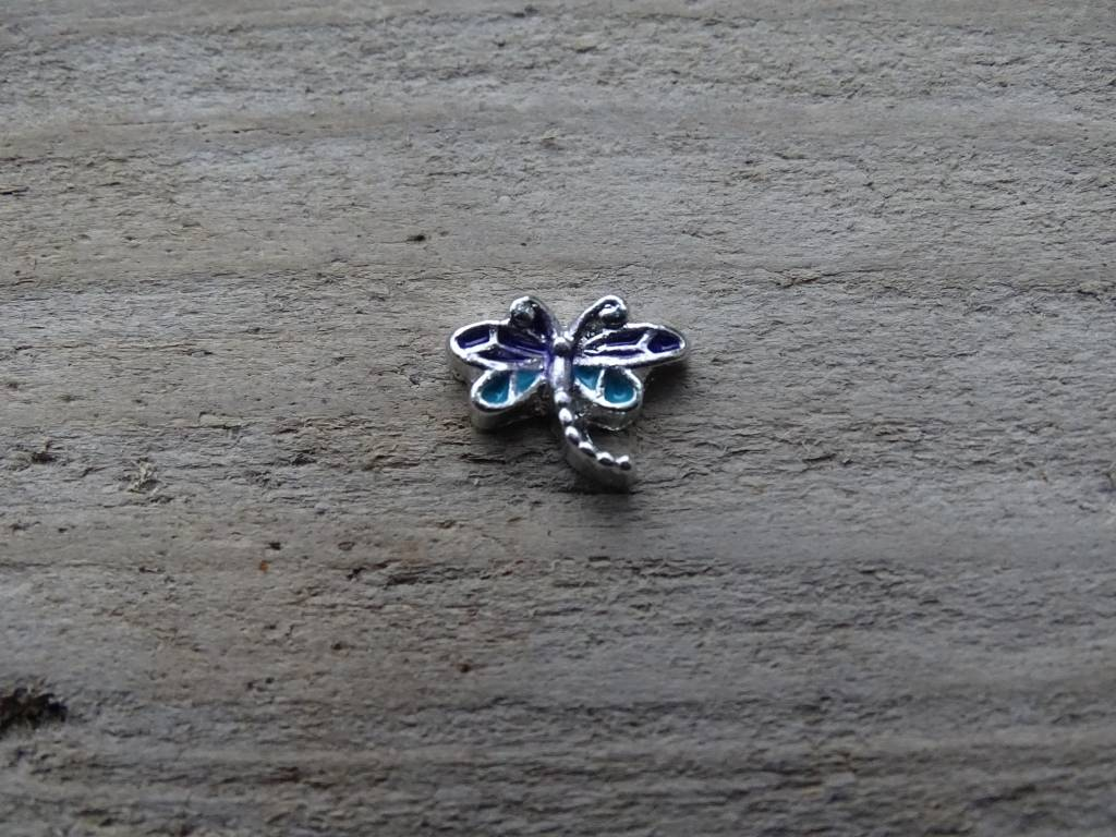 My Lucky Charm Bedel Libelle Blauw~Paars