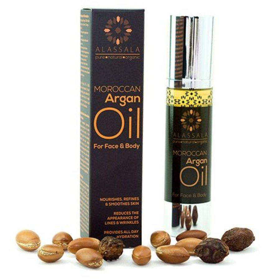 Marokkaanse argan olie voor gezicht en lichaam - 50ml