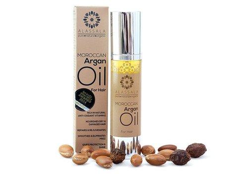 Alassala Marokkaanse argan olie voor haar 50ml