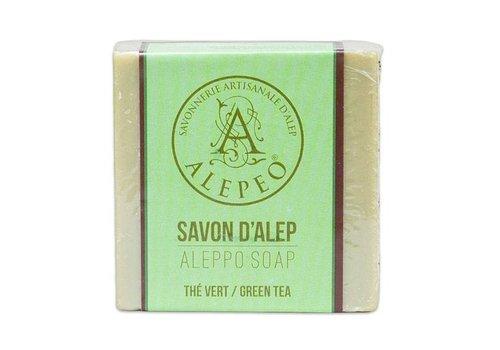 Alepeo vormzeep met groene thee