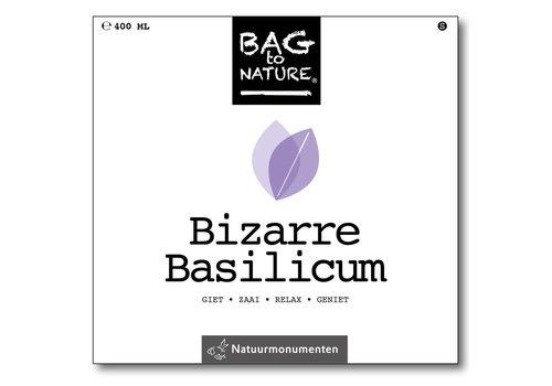 Bag -to-Nature zelf groente kweken - bizarre basillicum
