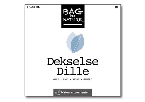 Bag -to-Nature zelf groente kweken - dekselse dille
