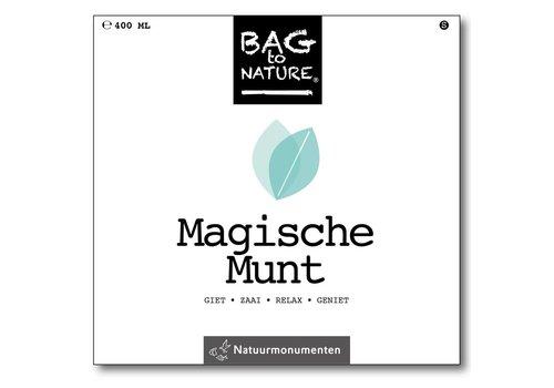 Bag -to-Nature zelf groente kweken - magische munt