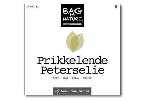 Bag -to-Nature zelf groente kweken - prikkelende peterselie