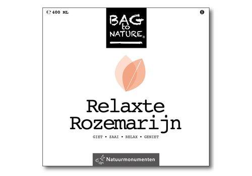 Bag -to-Nature zelf groente kweken - relaxte rozemarijn