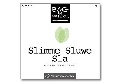 Bag -to-Nature zelf groente kweken - slimme sluwe sla