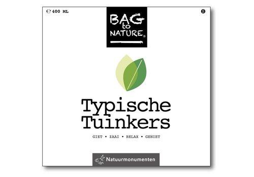 Bag -to-Nature zelf groente kweken - typische tuinkers