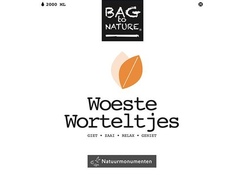 Bag -to-Nature zelf groente kweken - woeste worteltjes