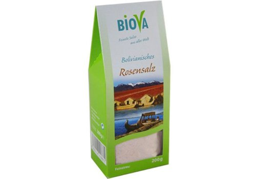 Biova boliviaans rozenzout fijn 200 gram
