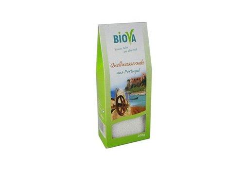 Biova bronwater zout uit portugal 200 gram