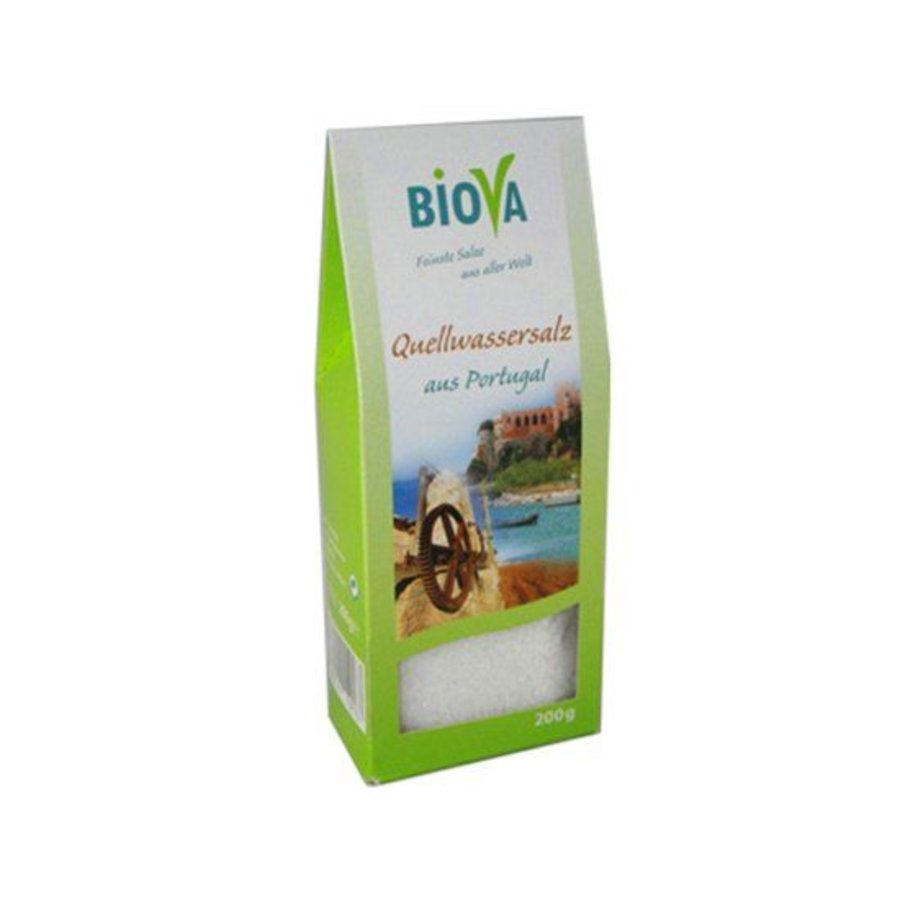 bronwater zout uit portugal 200 gram
