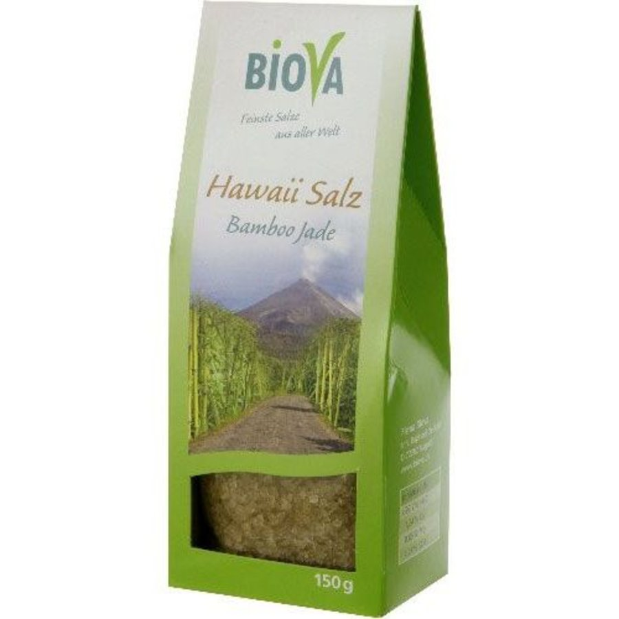 hawaï groen zout fijn 150 gram
