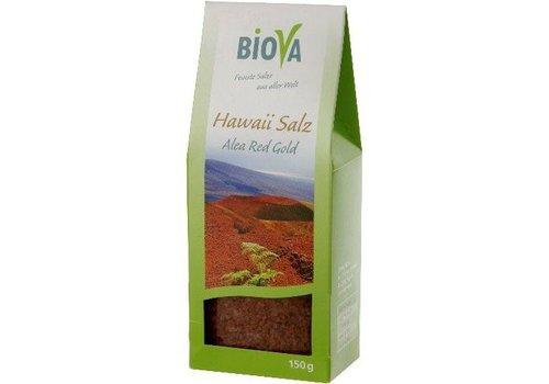 Biova hawaï zout rood fijn 150 gram