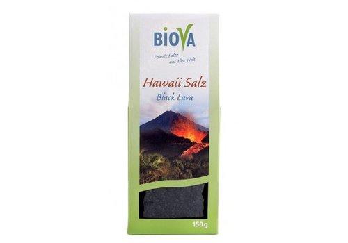 Biova hawaï zout zwart fijn 150 gram