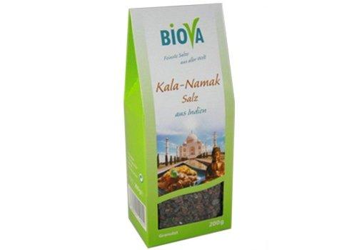 Biova kala namak zout uit india granulaat 200 gram