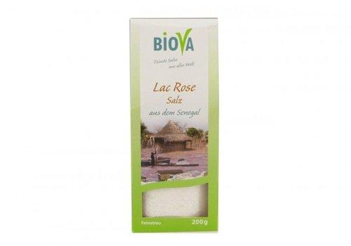 Biova lac rose zout fijn 200 gram