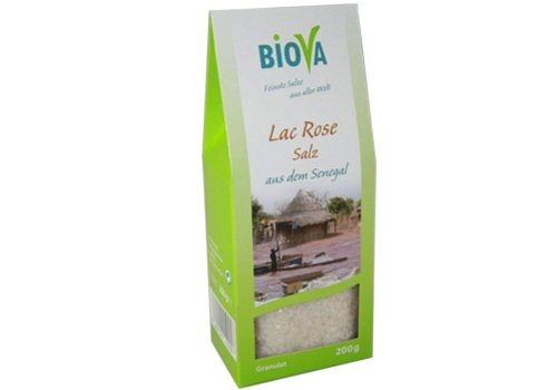 Biova lac rose zout granulaat 200 gram