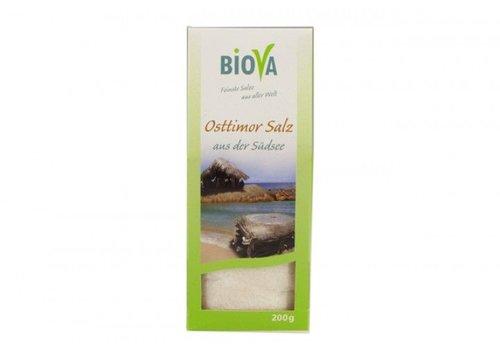 Biova oosttimor zout uit zuidmeer200 gram