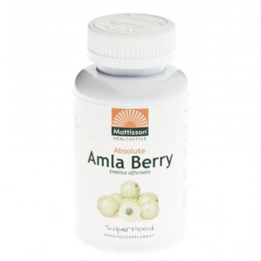 absolute amla berry extract 500 mg  capsules 60 vcaps