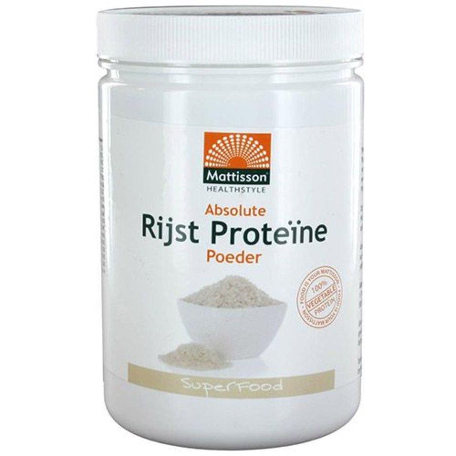 absolute rijst proteïne poeder 400g