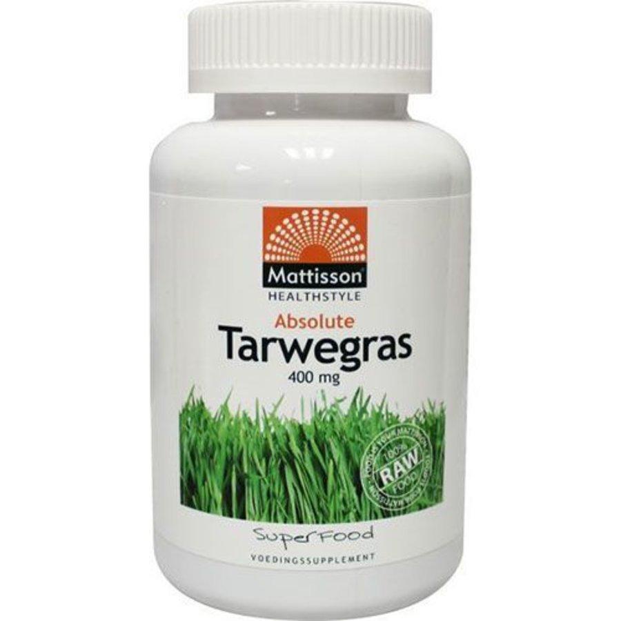 absolute tarwegras wheatgrass 400 mg bio tabletten 350 tabs