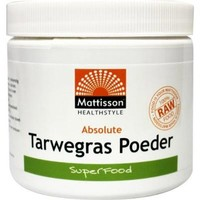 absolute tarwegras wheatgrass poeder bio raw 125 gram