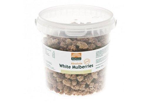 Mattisson absolute witte moerbei white mulberry raw 300 gram