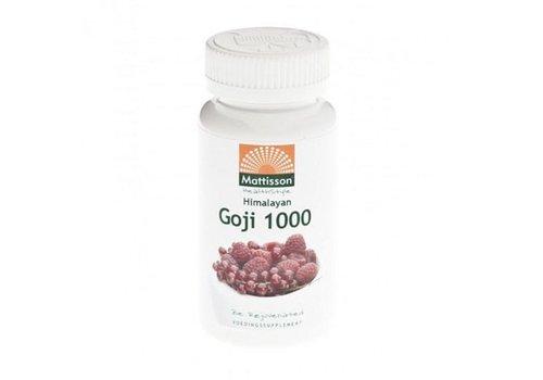 Mattisson goji berry extract capsules 60 vcaps