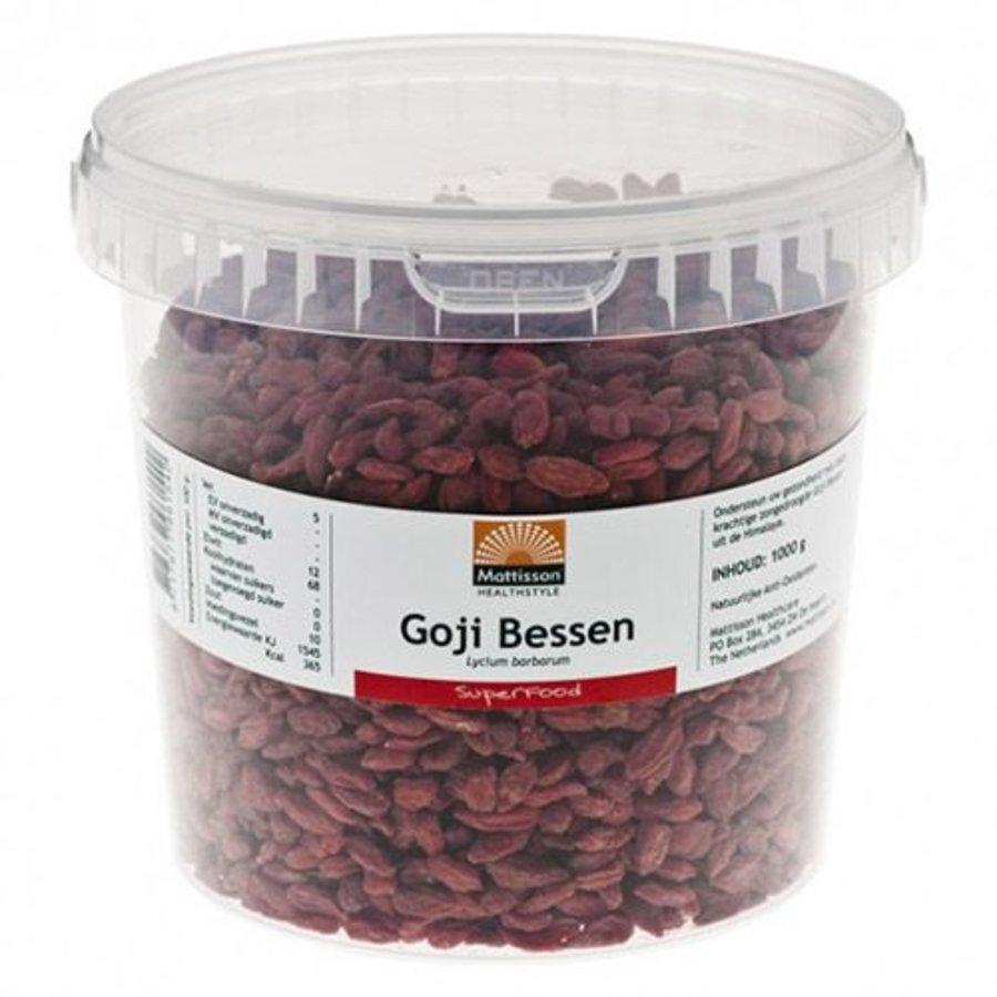 goji bessen berry gedroogd 1000 gram