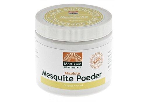 Mattisson mesquite bio poeder raw 300 gram