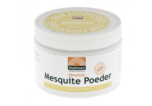 Mattisson mesquite poeder raw bio 125 gram