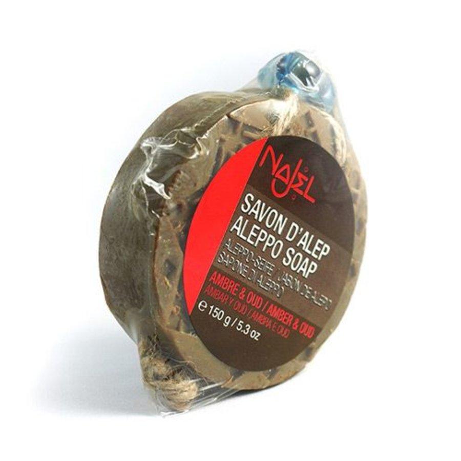 aleppozeep amber oud mottenzeep luchtverfrisser- 150 gram