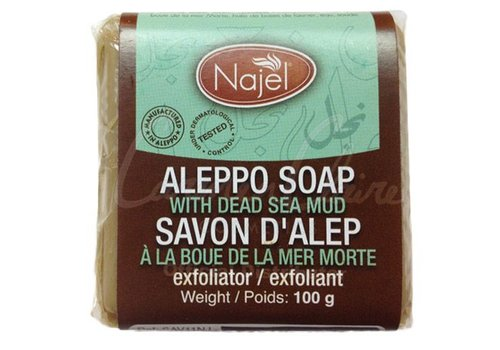 Najel aleppozeep met dode zeep modder -100 gram