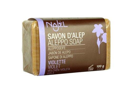 Najel aleppozeep met viooltjes-extract - 100 gram