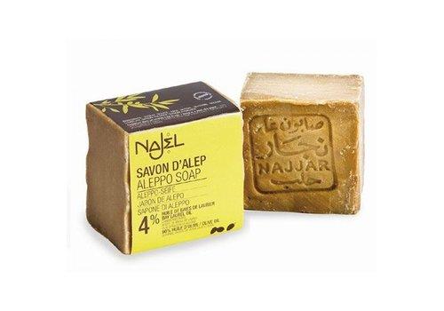 Najel regular zeep 4% bla 200 gram
