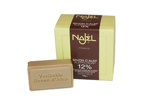 Najel collection 12% laurierolie zeep 100g