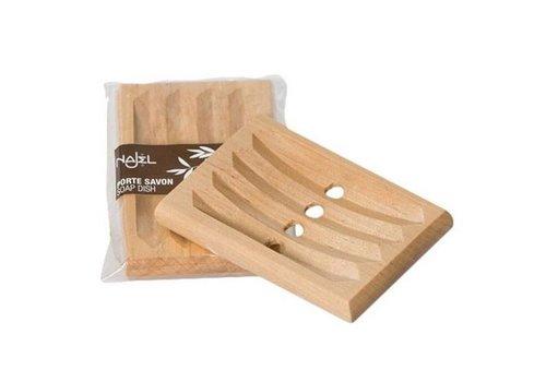 Najel zeepbakje houten onderlegger voor zeepblokje