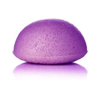 Nutrikraft konjac spons lavendel paars - halfrond