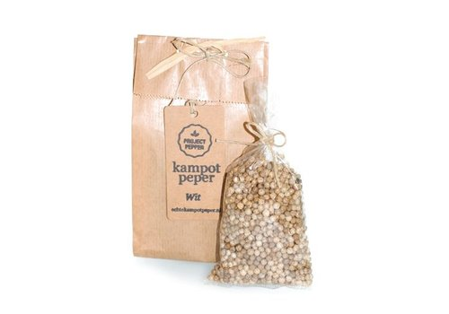 Project Pepper fair trade witte kampot peper